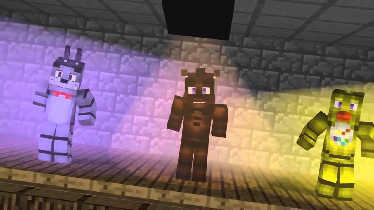 МИШКА ФРЕДДИ - Minecraft (Обзор Мода). Видео из игры Майнкрафт