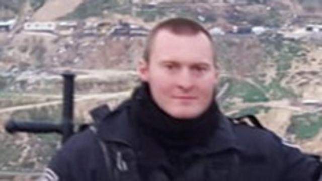 Боец полицейского спецназа Сергей Буцыкин.